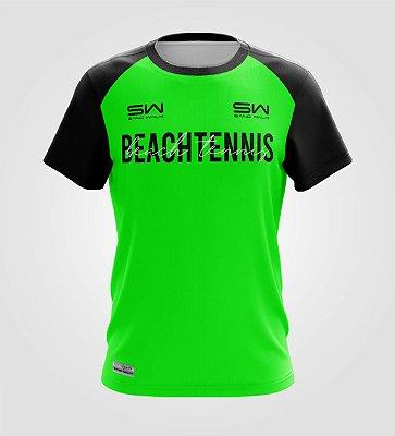 Camiseta Masculina | Beach Tennis | Colors | Verde