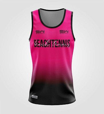 Regata Masculina   Beach Tennis   Colors   Pink