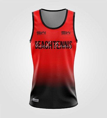 Regata Masculina | Beach Tennis | Colors | Vermelha