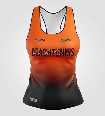 Regata Feminina | Beach Tennis | Colors | Laranja