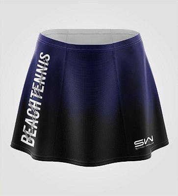Shorts-Saia | Beach Tennis | Colors | Marinho e Preto