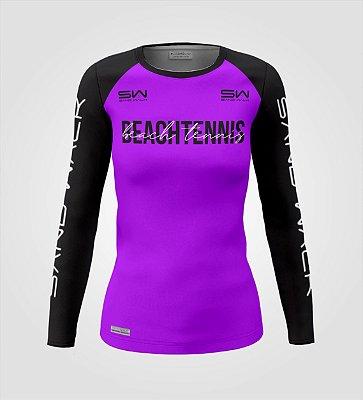 Camisa Manga Longa | Feminina | Beach Tennis | Colors | Purple