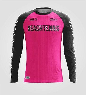 Camisa Manga Longa | Masculina | Beach Tennis | Colors | Pink