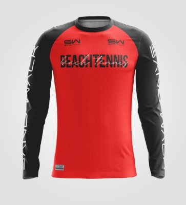 Camisa Manga Longa | Masculina | Beach Tennis | Colors | Vermelha