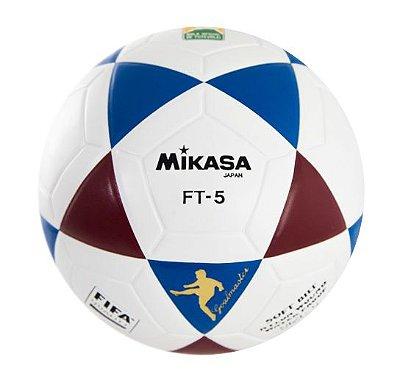 BOLA OFICIAL FUTEVÔLEI MIKASA FT5 - Tricolor