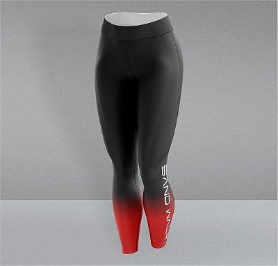 Calça Preta e Vermelha