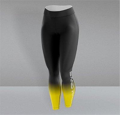 Calça Preta e Amarela