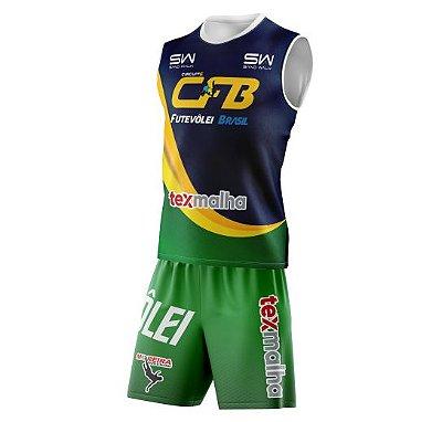 Conjunto Regata e Shorts CFB