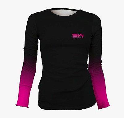 Camisa Térmica Feminina | Manga Longa | Rosa
