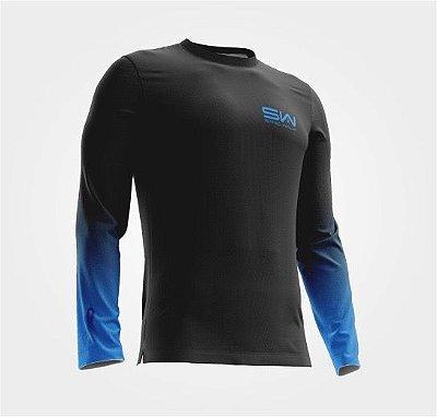 Camisa Térmica Masculina | Manga Longa | Azul