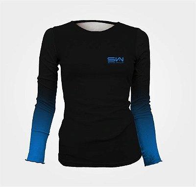 Camisa Térmica Feminina | Manga Longa |Novembro Azul
