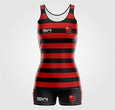 Conjunto Regata e Shorts Feminino   Mundial de Futebol