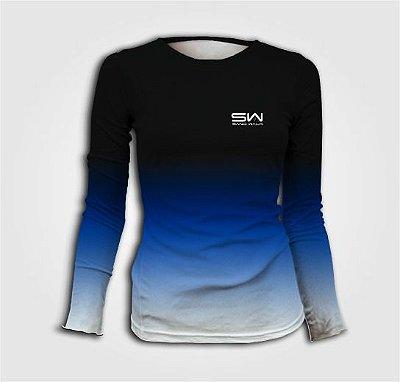 Camisa Térmica Feminina | Manga Longa | Beach Tennis | Tricolor