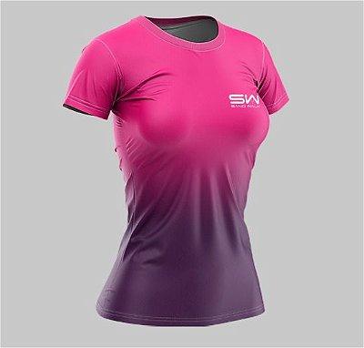 Camiseta Feminina | Beach Tennis | Pink