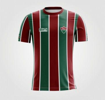 Camiseta Masculina | Coleção Manto | Verde e Vermelha