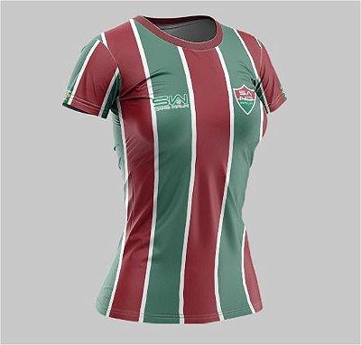 Camiseta Feminina | Coleção Manto | Verde e Vermelha