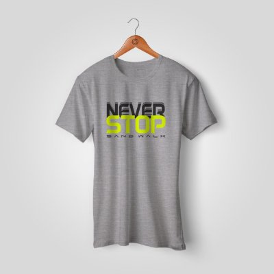 Camiseta Sand Walk | Never Stop