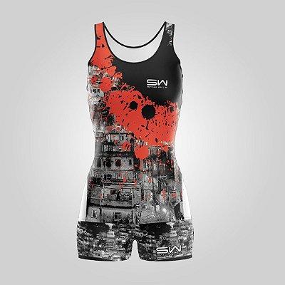 Conjunto Regata e Shorts | Feminino | Rocinha