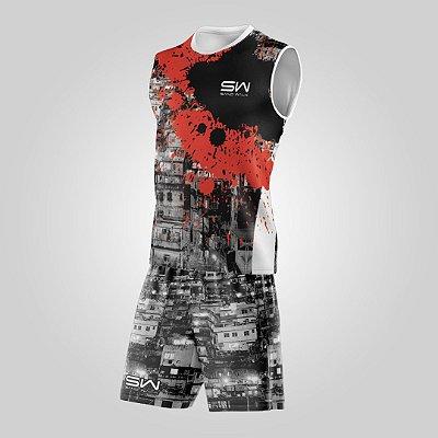 Conjunto Regata e Shorts | Masculino | Rocinha