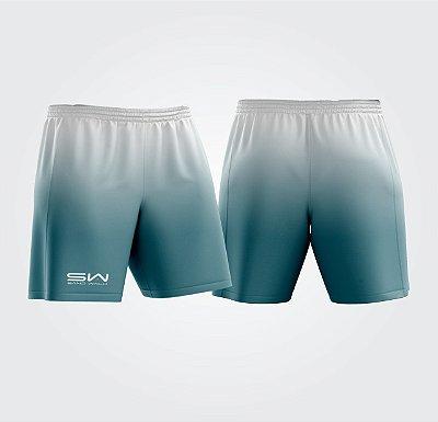 Shorts Masculino | Modelo Treino | Branco e Azul