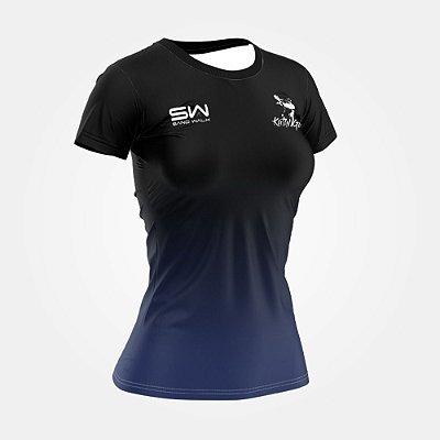 Camiseta Feminina | Preta | Coleção Kath Guedes SW