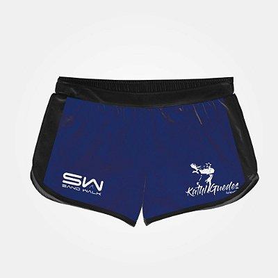 Shorts Feminino | Modelo Treino | Azul | Coleção Kath Guedes SW