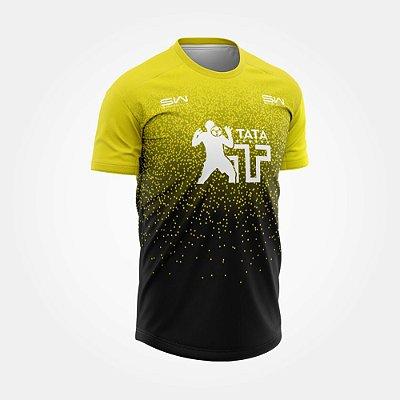 Camiseta Masculina | Térmica | Bicolor | Coleção Tatá SW