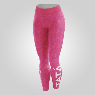 Calça Térmica | Feminina | Pink | Coleção Tatá SW