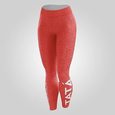 Calça Térmica | Feminina | Vermelha | Coleção Tatá SW