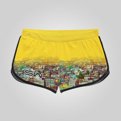 Shorts Feminino | Modelo Treino | Coleção Favela