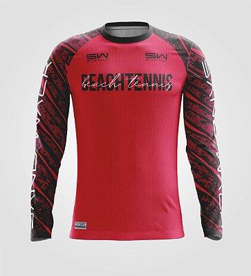 Camisa Térmica Masculina | Manga Longa | Beach Tennis | Coleção Revés