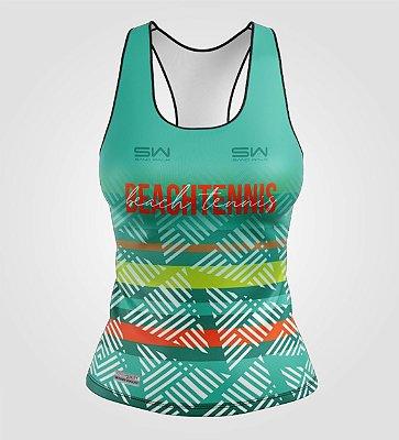 Regata Feminina | Beach Tennis | Coleção Voleio