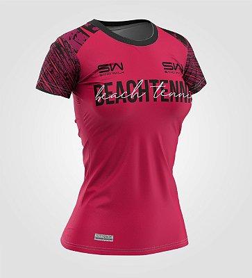 Camiseta Feminina | Beach Tennis | Coleção Revés