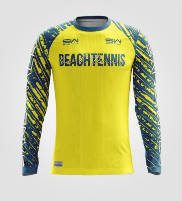 Camisa Térmica Masculina | Manga Longa | Beach Tennis | Coleção Drop Shot