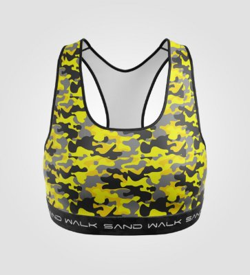 Top Treino | Feminino | Warrior Yellow