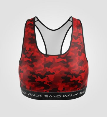 Top Treino | Feminino | Warrior Red