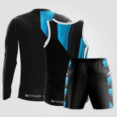 Kit Masculino | Regata, Manga Longa e Shorts | Racing 2.0
