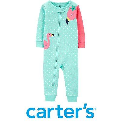 Pijama Flamingo Turquesa Carter´s