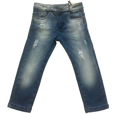 Calça Jeans Skinny Crawling