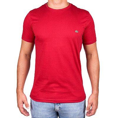 Camiseta Masculina - Lac Croco Vermelha