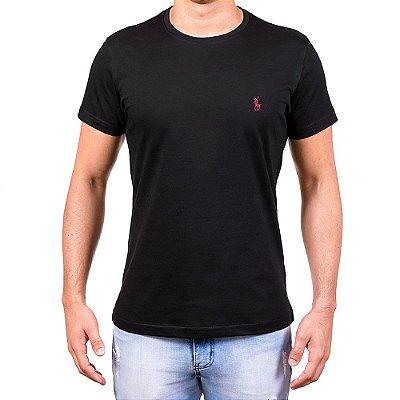Camisetas Masculinas - Da Polo Preta