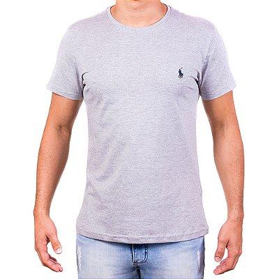 Camisetas Masculinas - Da Polo Cinza