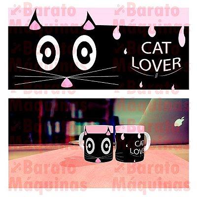Cat lover - Arte para Canecas
