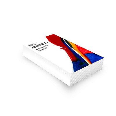 Vinil Adesivo A3 Transparente para Sublimação