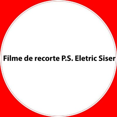 Filme de recorte P.S. Eletric Siser