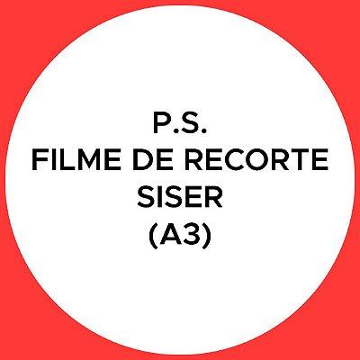P.S. Filme de Recorte Siser (A3)