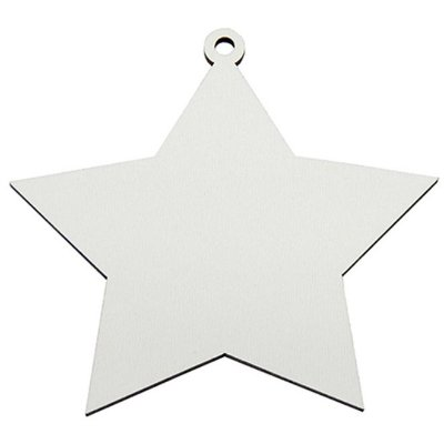 Estrela de Natal em MDF para Sublimação (3 uni)