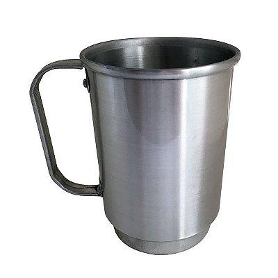 Caneca de Alumínio Chopp 550 ml Prata