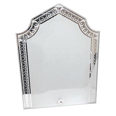 Porta Retrato de Vidro Desenhado 23x18