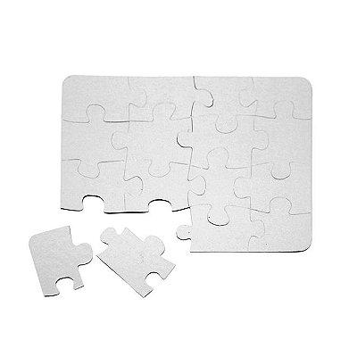 Quebra Cabeça Retangular 16 peças (5 Unidades)